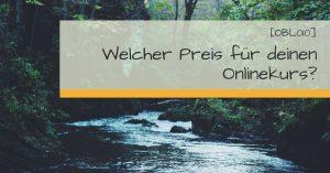 Preis Onlinekurs