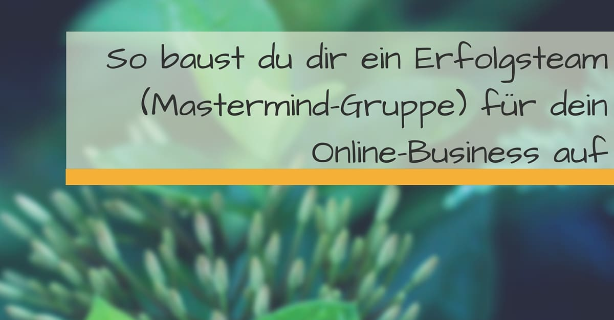 Erfolgsteam Online-Business