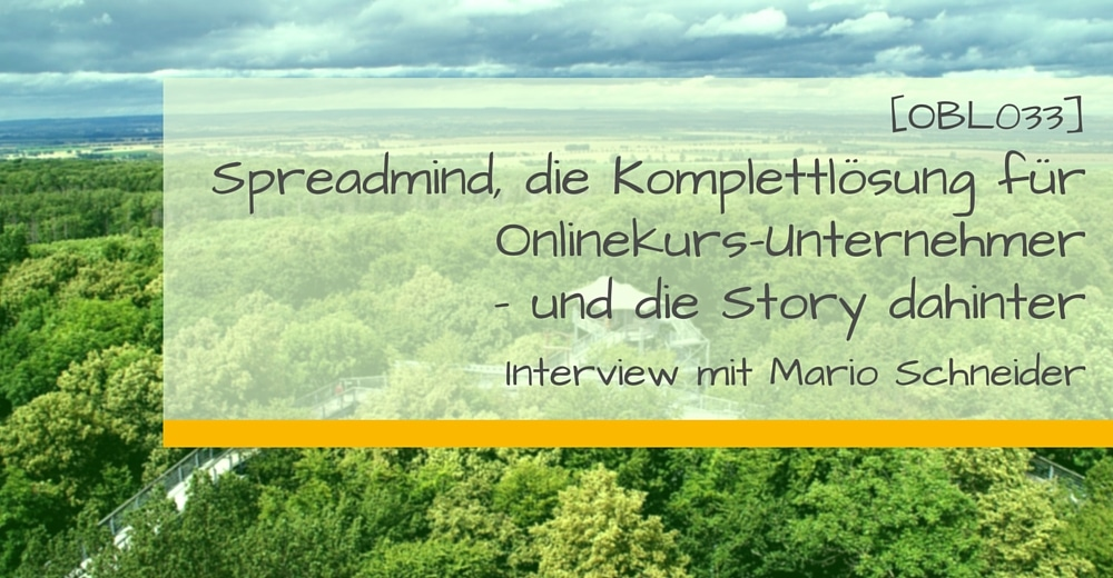 Spreadmind Interview OBL033